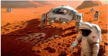معجزة على كوكب المريخ وهي ظهور إسم الرسول صلى الله عليه وسلم