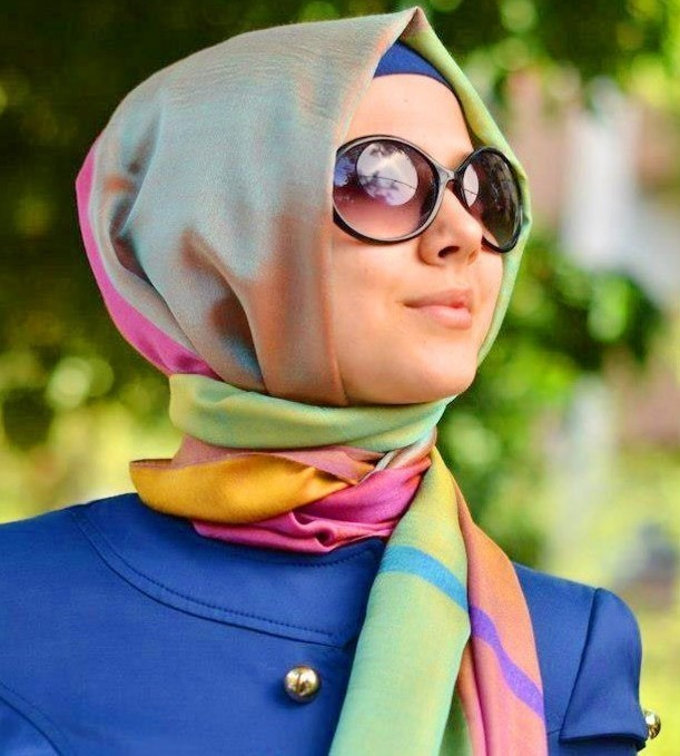 لفات حجابات مميزه تألقي بهذا الصيف 2016