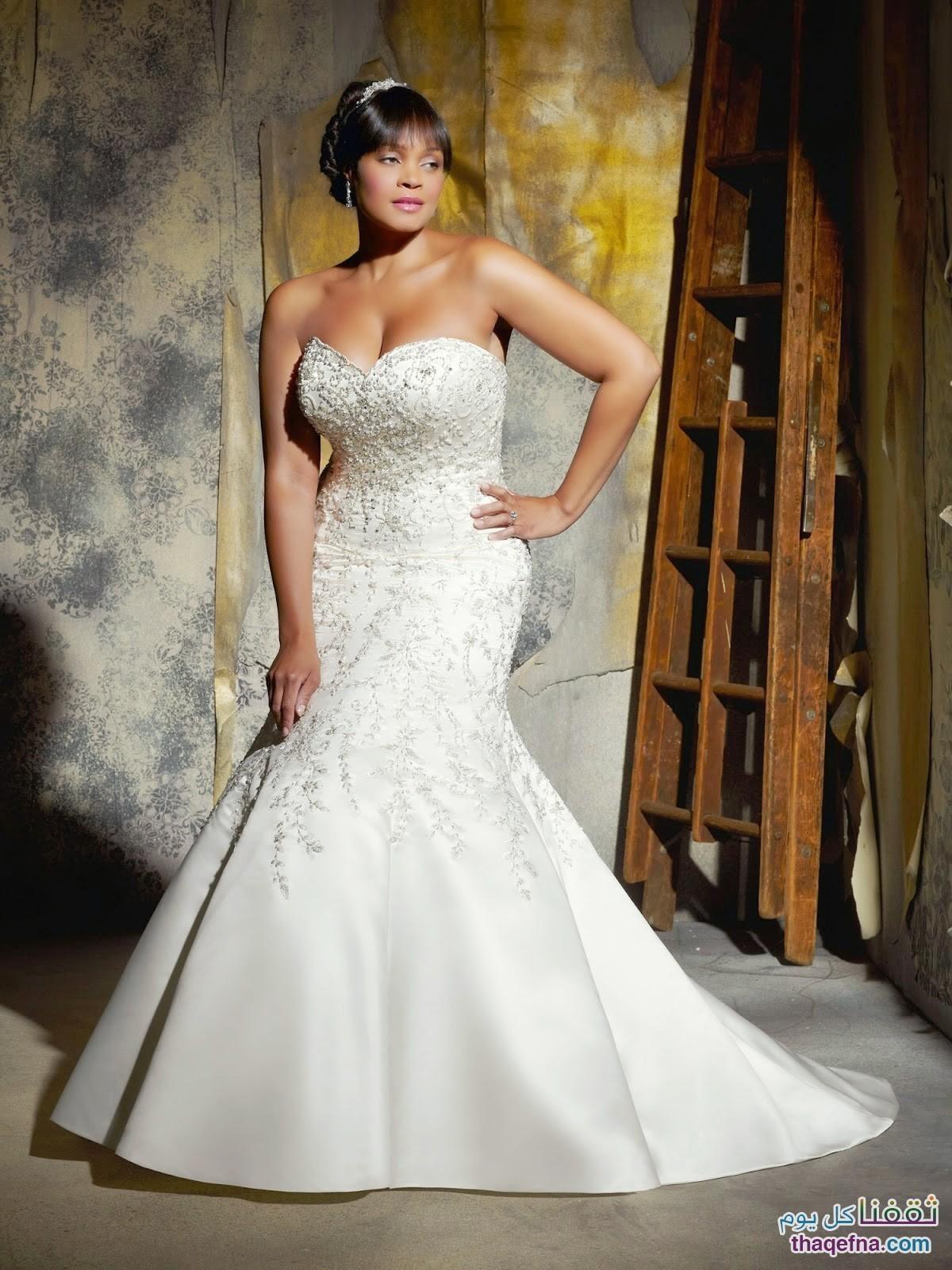 52a77dba298d5 أجمل وأحدث صور فساتين زفاف لعام 2015 – 2016 – ثقفنا كل يوم