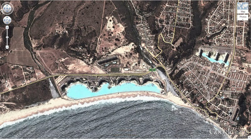 أكبر حمامات السباحة