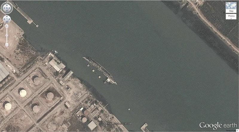 حطام سفينة في العراق