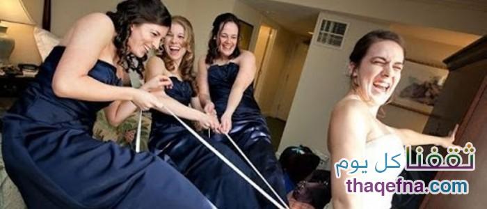 شاهدوا أكثر اللقطات المضحكة بحفل الزفاف والمواقف المسببة للإحراج للعرسان 2015