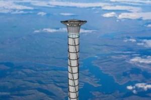 مصعد فضائي بارتفاع 20 كيلو متر عن سطح الأرض.. فيديو