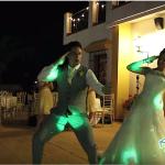 أجمل رقصة عروسين على الإطلاق في حفل زفافهما!! فيديو