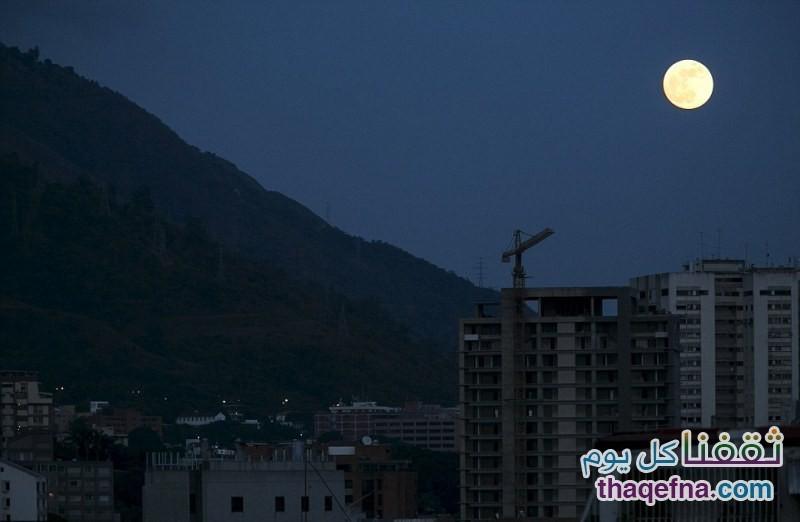 القمر الدموي - القمر العملاق (11)