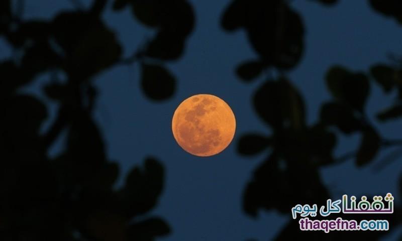 القمر الدموي - القمر العملاق (17)