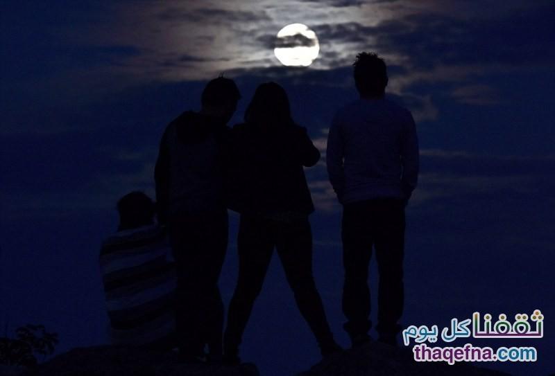 القمر الدموي - القمر العملاق (35)