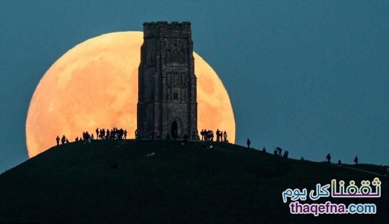 القمر الدموي - القمر العملاق (5)