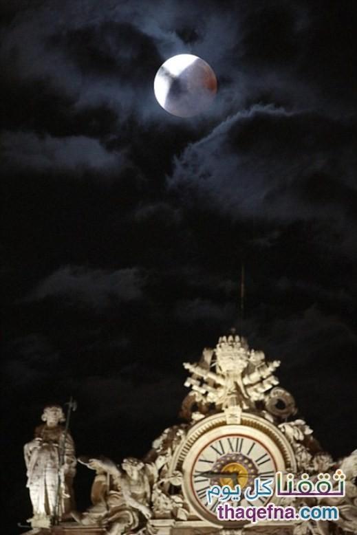 القمر الدموي - القمر العملاق (6)