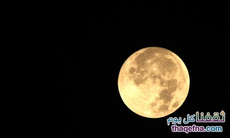 """صور القمر الدموي """"القمر العملاق"""" من كافة أنحاء العالم"""