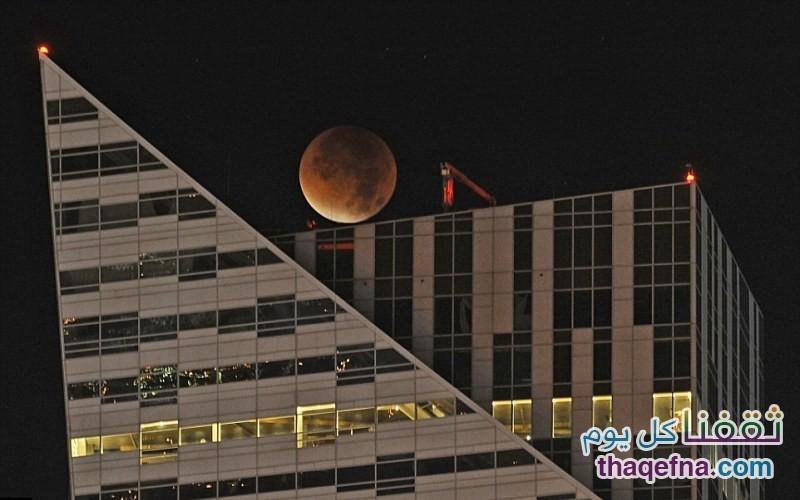 القمر الدموي - القمر العملاق (9)