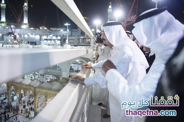 الأمير محمد بن نايف بن عبد العزيز و الأمير خالد بن الفيصل بن عبد العزيز