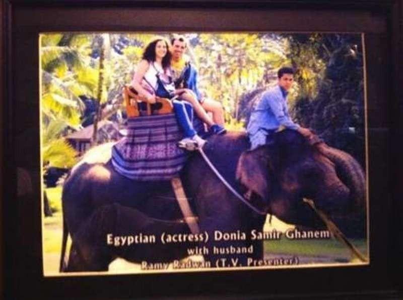 دنيا سمير غانم وزوجها من شهر العسل 2