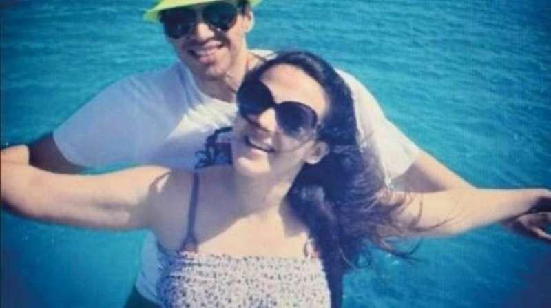 دنيا سمير غانم وزوجها من شهر العسل