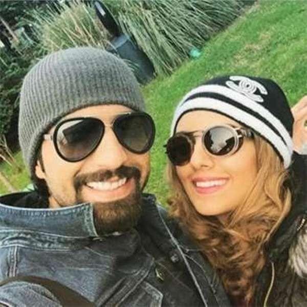 هيا عبد السلام وزوجها من شهر العسل