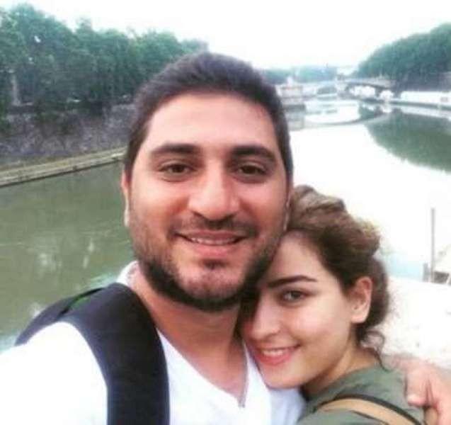 وائل نجم وزوجته من شهر العسل