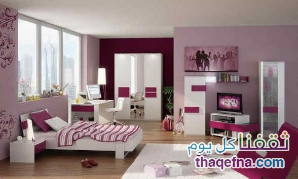 Home-Improvement-Ideas-For-The-Bedrooms-2015-Contrasting-Wall-Borders-Ceiling-Doors-Interior-Designs-2016-3