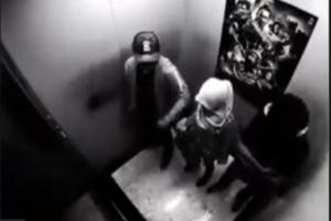 إرادوا أن يعتدوا عليها لأنها محجبة داخل المصعد… شاهدوا ماذا حصل!!