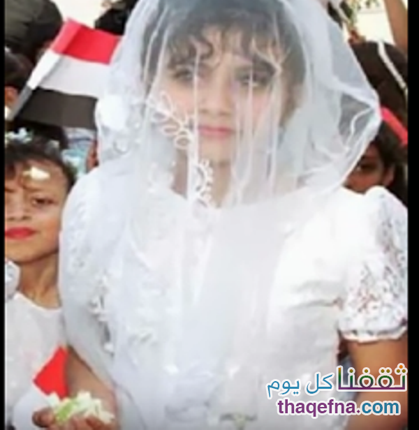 """أصغر عروس في العالم """"روان"""" 8 سنوات والتي إنتهى زواجها بكارثة ولن ينساها العالم!"""