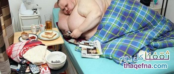 أضخم رجل بالعالم وزنه 423 كيلو غرام أكل نفسه حتى الموت!