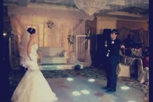 فيديو لأجمل رقصة بين عريس وعروسة مصريين «دمهم خفيف»!!