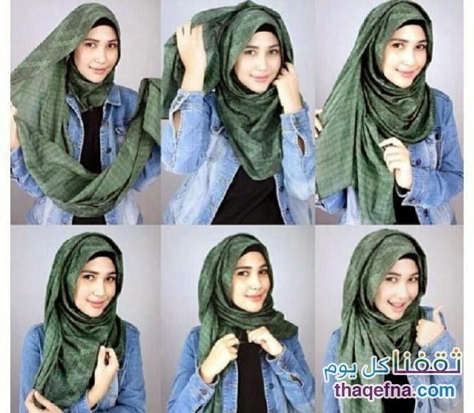 صور لفات حجاب