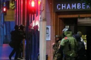 فيديو.. إقتحام الجيش الفرنسي وإنتهاء أزمة الرهائن