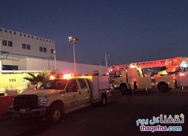 حريق مستشفى جازان العام 1
