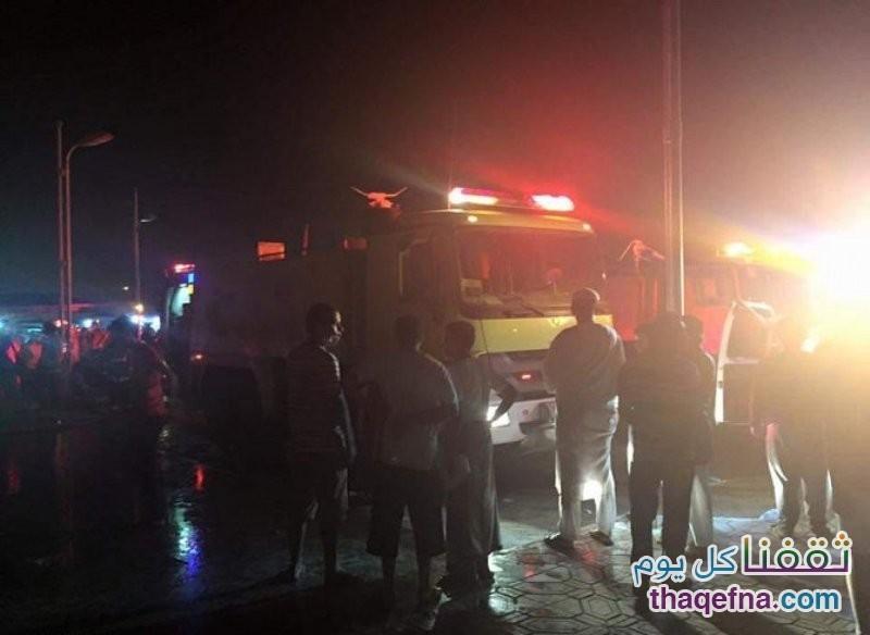 حريق مستشفى جازان العام 2