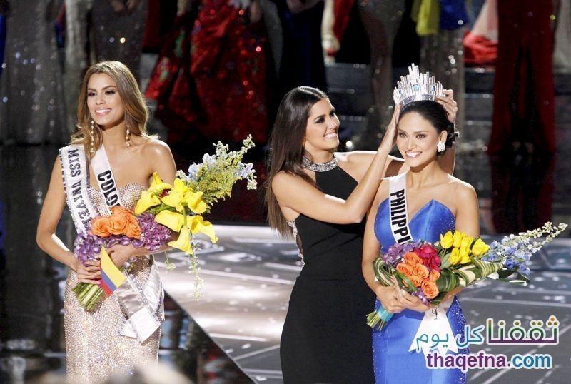 ملكة جمال الكون 2015 ،، وأكبر خطأ بحق المشاعر الإنسانية،فما الذي حصل!