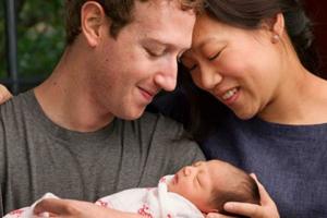 مؤسس الفيس بوك أصبح أبا وتبرع بـ 99% من ثروته لأعمال الخير