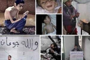 مضايا …شبح الموت يلاحق ساكنيها والقطط والكلاب اصبحت طعاما لسد الجوع
