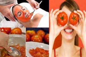 ماذا يحدث بعد وضع الطماطم على الوجه مدة 10 دقائق