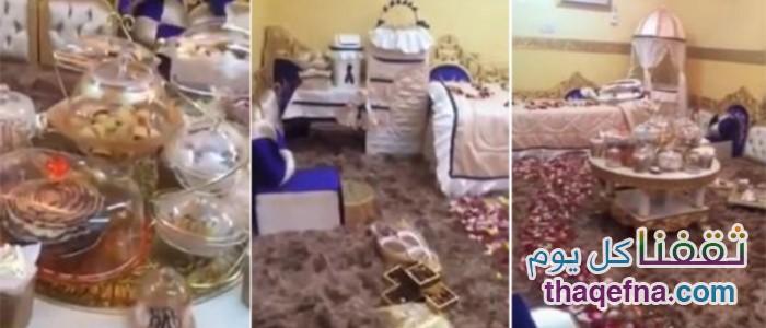 شاهدوا بالفيديو كيف إستقبل الزوج السعودي زوجته بعد ولادة البنت السادسة