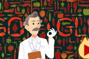ولبر سكوفيل في ذكرى ميلاده 151 على جوجل، مخترع جهاز سكوفيل