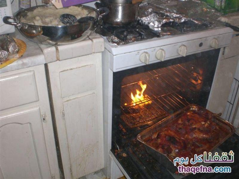 صور لطبخات فاشلة