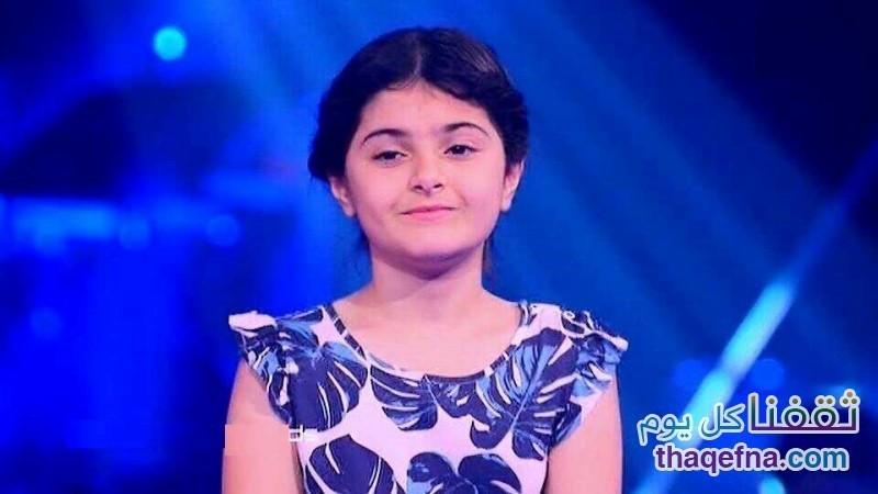 الطفلة العراقية ميرنا حنا ذا فويس كيدز للعرض المباشر تخرج من البرنامج
