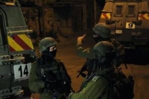 قوات الإحتلال الإسرائيلي تعتقل 27 مواطناً الليلة الماضية