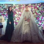 حفل زفاف أسطوري يكلف بليون دولار والفستان من تصميم إيلي صعب.. صور