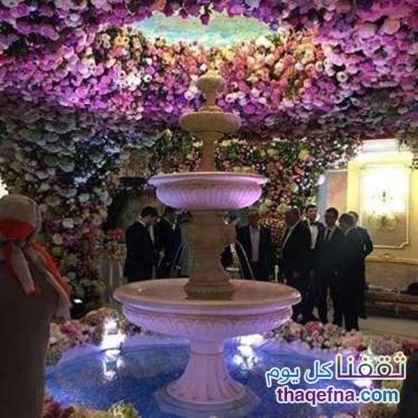 حفل زفاف اسطوري يكلف بليون دولار
