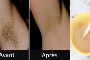 التخلص من شعر الإبط خلال دقيقتين بإستخدام وصفتين منزليتين طبيعيتين وبدون ألم