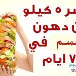 المشروب الأفضل لحرق الدهون بأسرع وقت والتخلص من 5 كيلو من الوزن في كل أسبوع