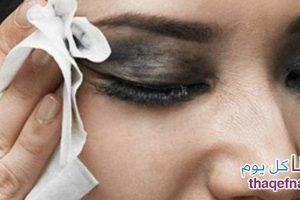 أفضل طريقة لإزالة مكياج العيون لمن تجد صعوبة في إزالة وتنظيف الوجه بأبسط وأسرع حل!!
