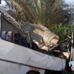 حادث تصادم ميت غمر نتيجة مزاح بين السائقين وراح ضحيته 22 شخص و 13 مصابين