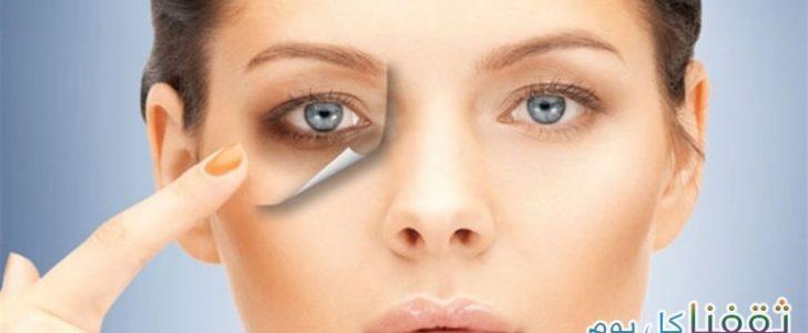 مفاجأة شاهدوا ماذا يحدث عن وضع صودا الخبز أسفل العينين (الخميرة) والنتيجة مذهبة!