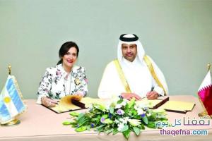 تبادل تجاري بين قطر والأرجنتين بمقدار 181 مليون دولار وتوقيع إتفاقية تعاون جديدة لتشجيع الإستثمار