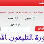 فاتورة التليفون المنزلي من خلال موقع المصرية للإتصالات والحصول عليها مباشرة أون لاين