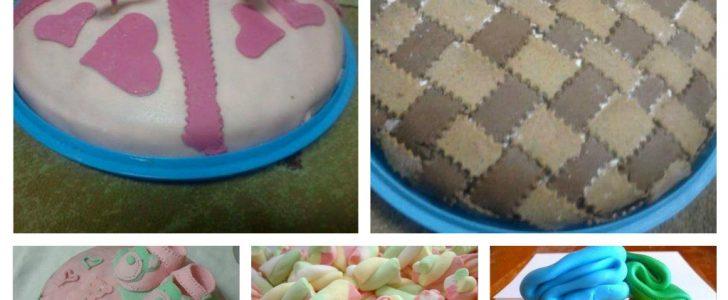 طريقة عمل عجينة السكر أو المارشميلو خطوة خطوة لتزيين وتصميم الكيك