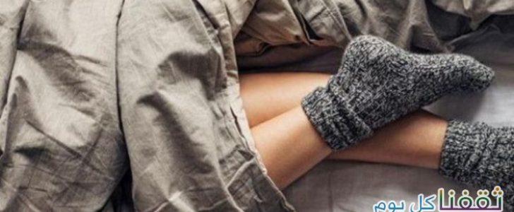 تعرفوا على فوائد إرتداء الجوارب أثناء النوم – ولن تصدقوا فائدتها للدماغ على حسب الدراسات