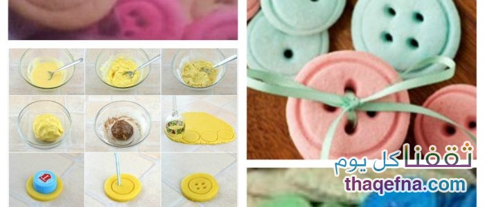 طريقة صنع بسكوت الأزرار بمكوناته البسيطة وطعمه الشهي والإستمتاع مع العائلة